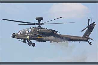 20x30 Poster; Army Ah-64D Apache Longbow Helicopter