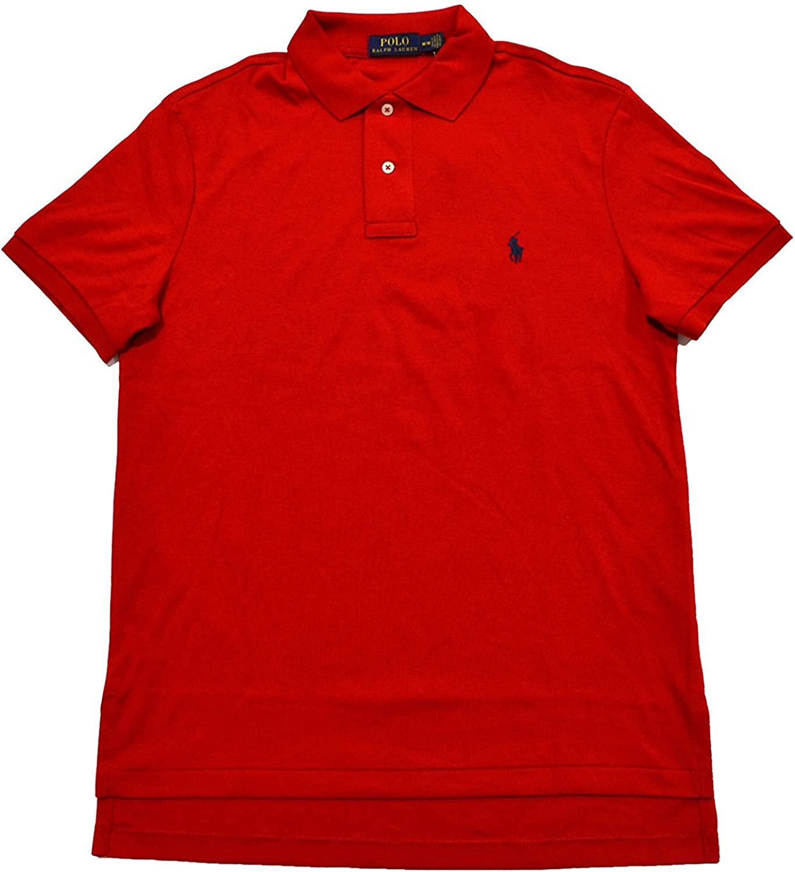 Polo Ralph Lauren Mens Medium Fit Interlock Polo Shirt