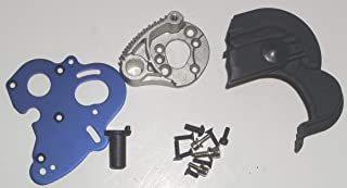 Traxxas E-Revo 1/10 Scale Motor Mount and Gear Cover for 2 Motor Brushed System.