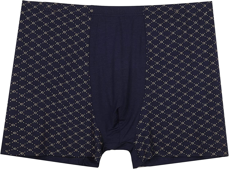 KONDLY Men's Big and tall boxer briefs ( 7XL, 9XL / 5 Pack ) Soft Comfortable Bamboo Viscose