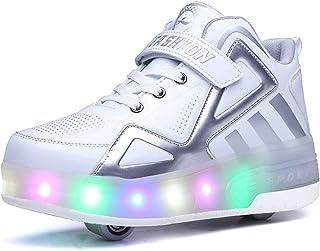 Mejorar Resolver Hamburguesa  Amazon.es: zapatillas con ruedas y luz: Zapatos y complementos