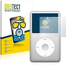 BROTECT Protector Pantalla Anti-Reflejos Compatible con Apple iPod Classic 120 GB (7a generación) (2 Unidades) Pelicula Mate Anti-Huellas