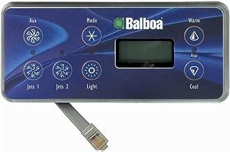 balboa hot tub control panel