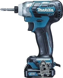 マキタ インパクトドライバTD111(10.8V)青 トルク135Nm 1.5Ahバッテリ2本・充電器付 TD111DSHX