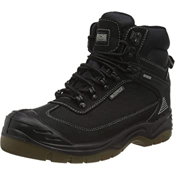 Apache Mens AP315CM Safety Boots Brown 6 UK