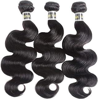 Brazilian Hair Body Wave Bundles 3packs/lot 100% Unprocessed Human Hair Extensions 3 Bundles Deal Brazilian Virgin hair 3 ...