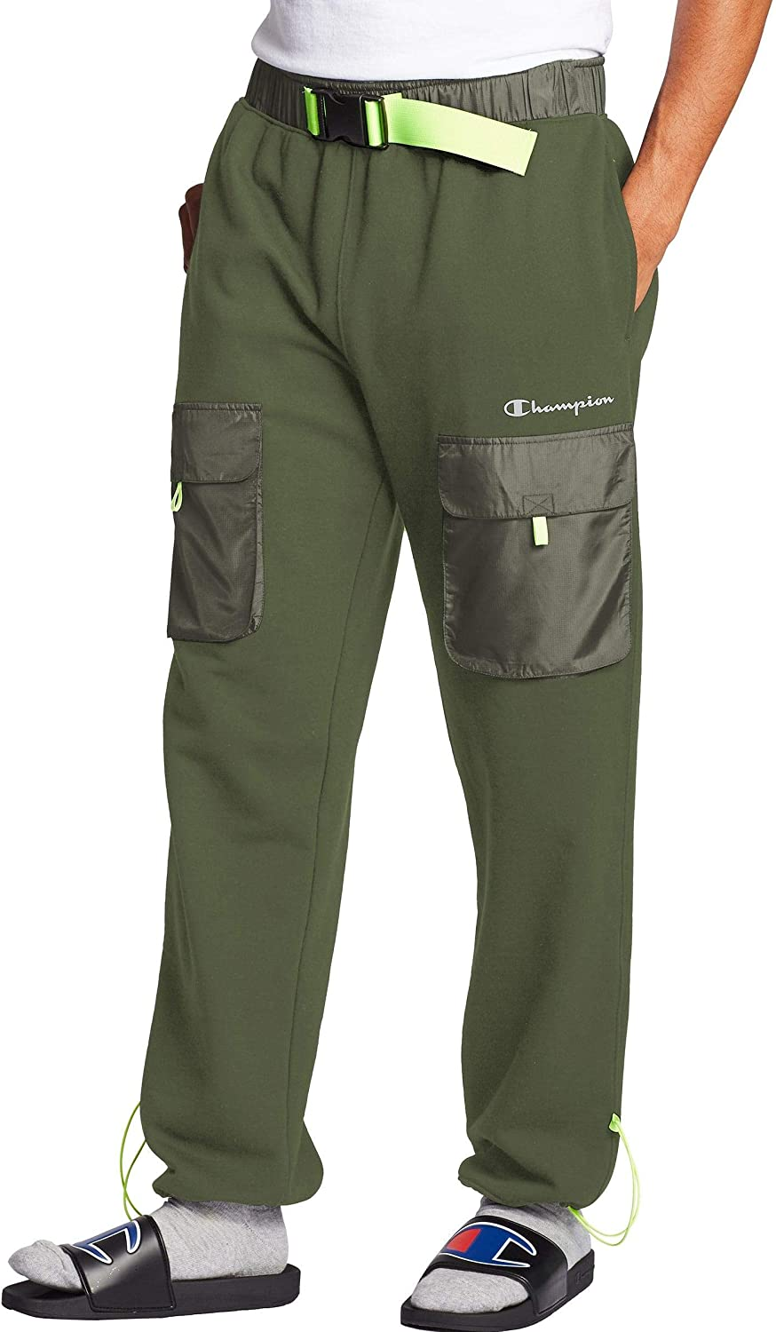 Champion Men's Sideline Jogger Las Vegas Mall Sales with Woven Piecing