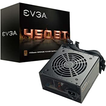 EVGA 100-BT-0450-K1, 450 BT, 80+ Bronze 450W, 3 Year Warranty, Power Supply