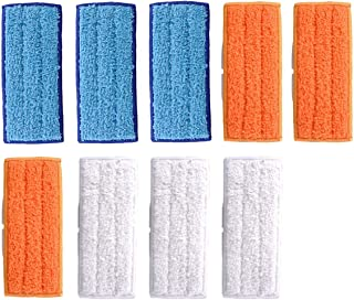 Adouiry Washable Mopping Pads for IRobot Braava Jet 240 Sweeping Pads, Reusable Wet Damp Dry (9 PCS)