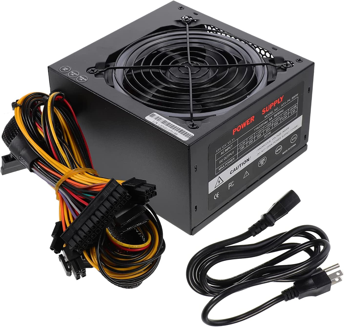 OSALADI Replacement PC Power Source Part Memphis Mall Computer Desktop New sales w 450W