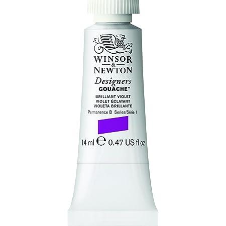 Winsor & Newton Designers Gouache Tube, 14ml, Brilliant Violet