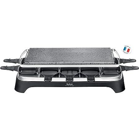 Tefal PR457812 Pierrade Raclette Inox Noir 52 x 28 x 14 cm