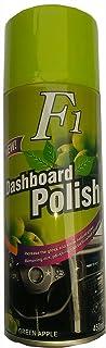 f22 Car Dashboard Wax Spray for Leather Seat (Apple Green Fragrance)