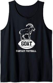 Funny Fantasy Football GOAT Party League Champion Tank Top