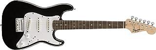 Best Squier by Fender Mini Stratocaster Beginner Electric Guitar - Indian Laurel Fingerboard - Black Review