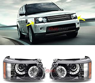MotorFansClub LED Headlight Headlights Assembly For Land Rover Range Rover Sport 2010-2013