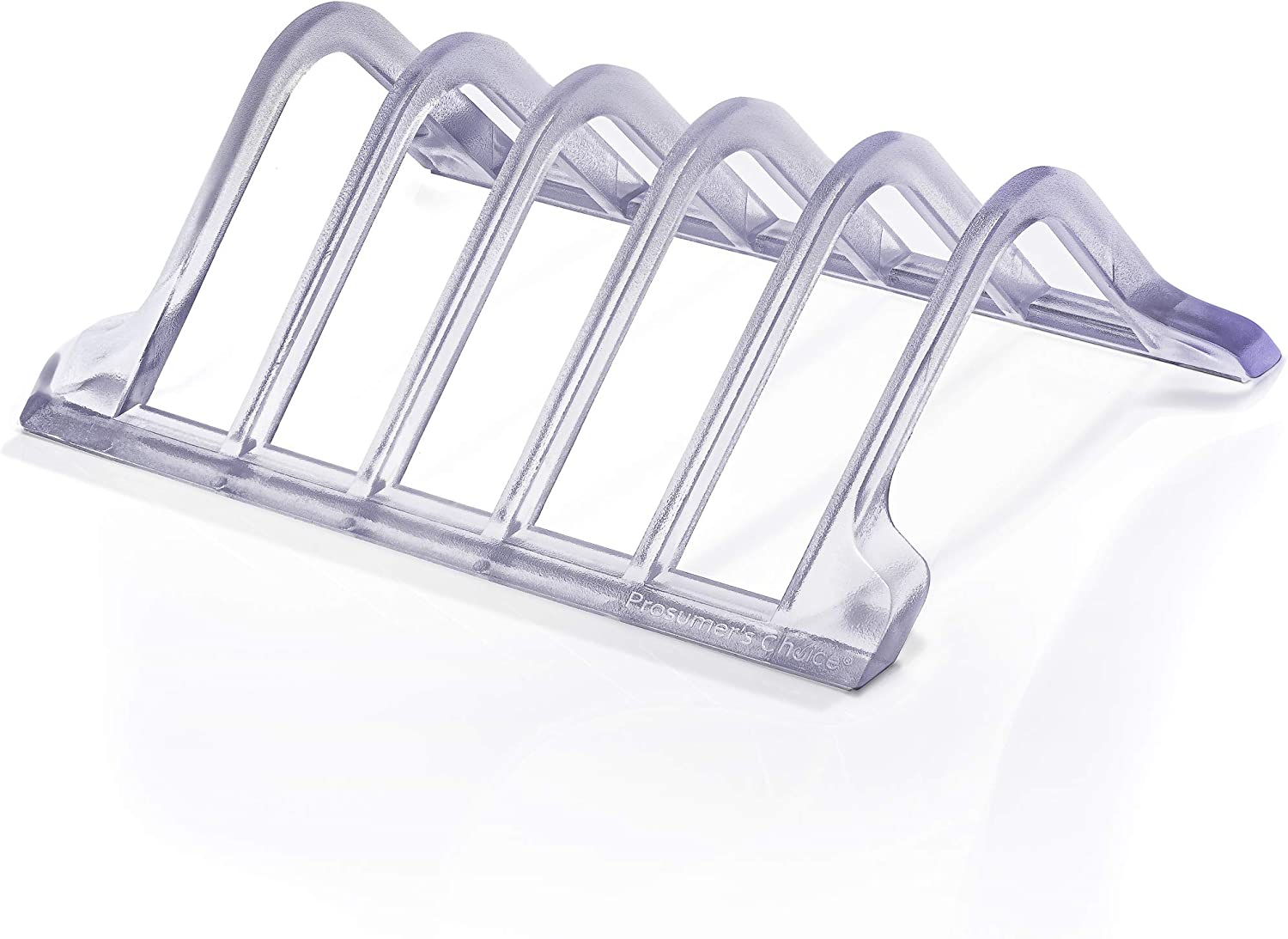 Prosumer's Choice Universal 5 Tablet and Smartphone Charging Organizer Rack Desktop Stand Holder - Clear