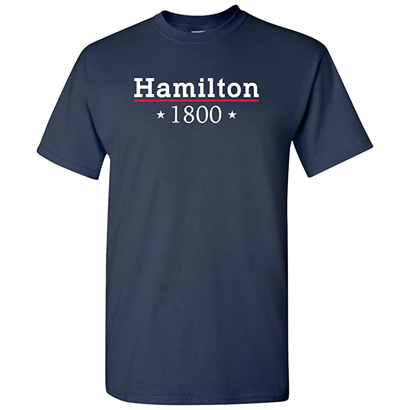 Hamilton 1800 - Funny, History - Adult T-Shirt Basic Cotton