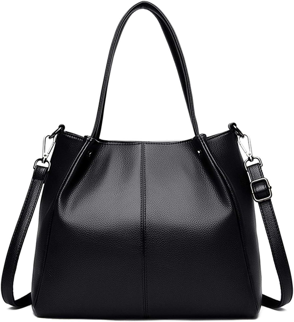 Women's Shoulder Bag Large Fashion Handbag Leat Capacity Max 44% Direct store OFF
