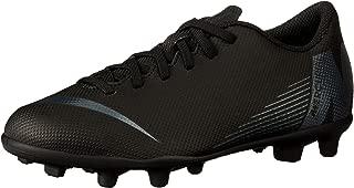 Nike Australia Boys Jr Vapor 12 Club GS FG/MG Fashion Shoes, Black/Black
