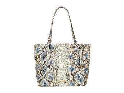 Brahmin Roxanne Medium Misha Tote (Haven) Handbags