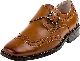 Joseph Allen 男童 Wingtip 鞋带侧扣(学步儿童,小童,大童)