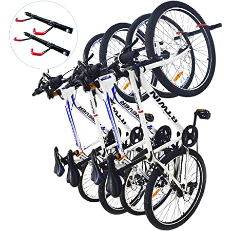 NEW Vertical BIKE RACK Wall Mounted Bicycle Storage Hook For Home Office
