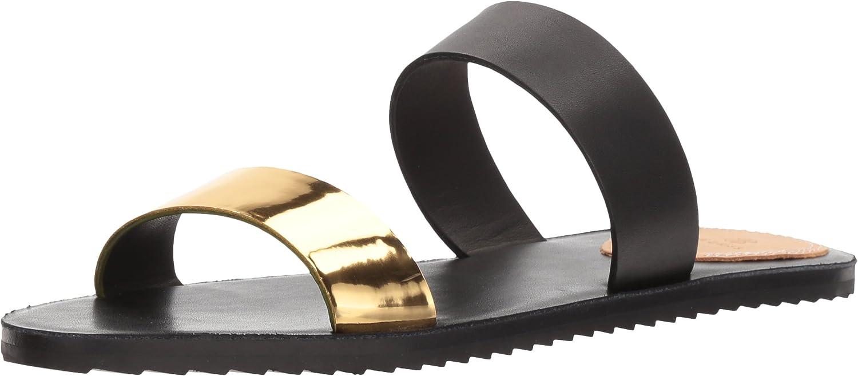 Bill Blass Womens Juliet Flat Sandal