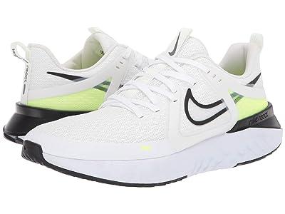 Nike Legend React 2 (White/Black/Electric Green/Vapor Green) Men