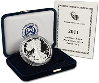 2011 w silver eagle proof
