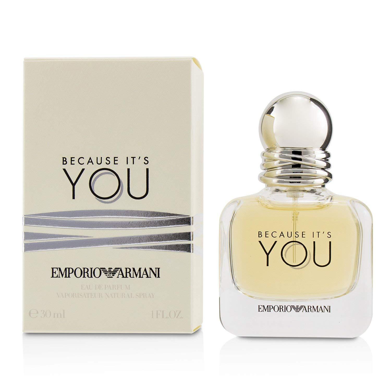 Amazon Com Giorgio Armani Emporio Armani Because It S You Eau De Parfum 1 0 Ounce Beauty