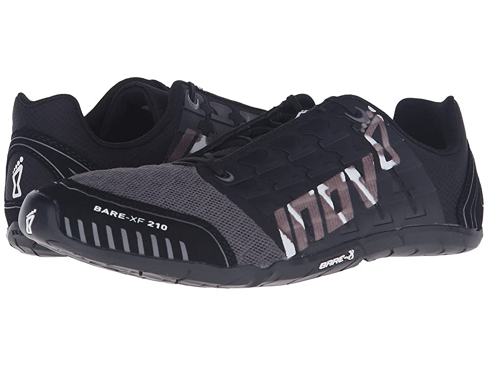 inov-8 Bare-XF 210 (Black/Grey/White) Running Shoes