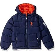 U.S. Polo Assn. Boys' Reversible Bubble Jacket