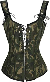 bc3acaedc Amazon.com  Greens - Bustiers   Corsets   Lingerie  Clothing
