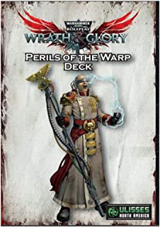 Ulisses North America Warhammer 40K: Wrath & Glory Perils of The Warp Deck RPG