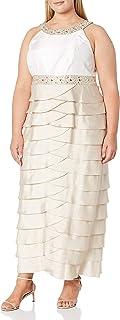 فستان Jessica Howard مطرز للنساء مقاس كبير