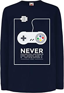 lepni.me Kids T-Shirt Old School Video Game Controller, Gifts for Gamers