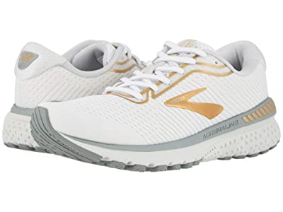 Brooks Adrenaline GTS 20 (White/Grey/Gold) Women