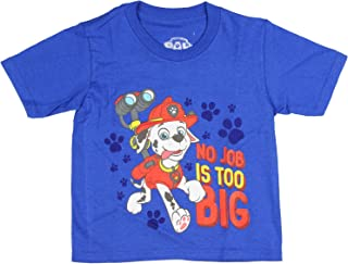 Nick Jr. Boys' Paw Patrol Marshall No Job is Too Big T-Shirt