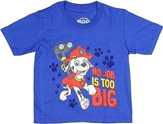 Nick Jr. Boys' Paw Patrol Marshall No Job is Too Big T-Shirt