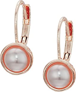 The Sak Pearl Leverback Earrings