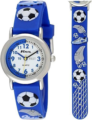 Ravel R1513.32R - Reloj para niños de Cuarzo, Correa de plástico Color