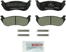 Bosch BC881 QuietCast Premium Ceramic Disc Brake Pad Set For Ford: 2002-2005 Explorer, 2007-2008 Explorer Sport Trac; Mercury: 2002-2005 Mountaineer; Rear
