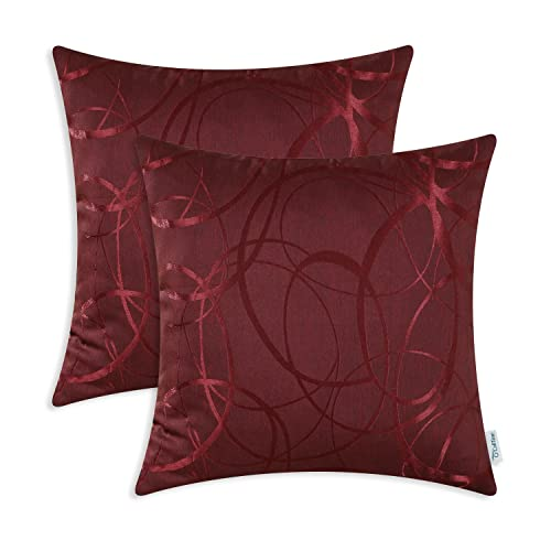 Burgundy Cushion Covers Amazon Co Uk