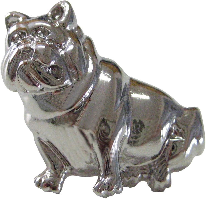 Kiola Designs Bull Dog Lapel Pin