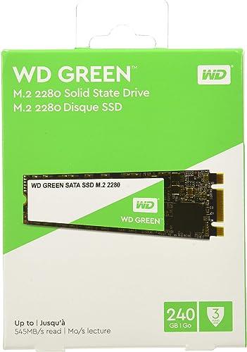 Western Digital WD Green 240 GB M.2 2280 SATA Internal Solid State Drive (WDS240G2G0B)