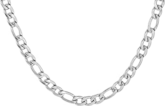 Amaal Jewellery Latest Silver Necklace Chains Chain for Men Boys Boyfriend Girlfriend Gents Mens Design -CN-A209