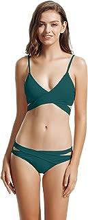 Best green wrap bikini Reviews