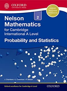 Nelson Probability and Statistics 2 for Cambridge International A Level