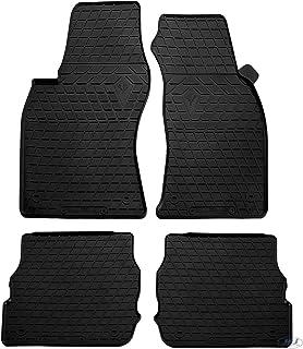Cobear Tapis de Sol de Voiture sur Mesure en Cuir pour A UDI A3 2008-2012 Hatchback Pleine Protection Nettoyage Interieur Voiture Beige 1 Set
